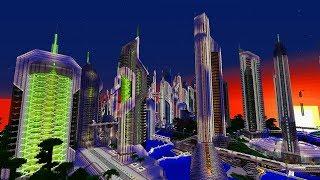 Diese Zukunft Minecraft Map hat 400.000 Downloads!