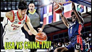 USA vs China 17U! China Got Some HOOPERS But USA is UNSTOPPABLE! Jalen Green, RJ Hampton & More!