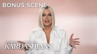 Khloé Kardashian Laughs Her Way Through the Pain! | KUWTK Bonus Scene | E!