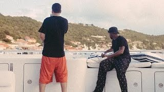 French Montana Joins Diddy On His New $100m Private Yacht