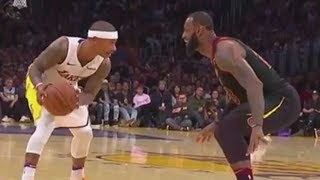 LeBron James Laughs at Isaiah Thomas in a 1 on 1