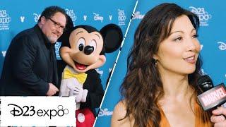 Talking to Disney Legends Jon Favreau, Ming-Na Wen, and Robert Downey Jr at D23 Expo