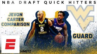 Jevon Carter 2018 NBA draft comparison: Patrick Beverley | DraftExpress | ESPN