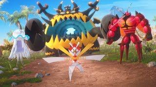 Charge into Battle with the Pokémon TCG: Sun & Moon—Crimson Invasion Expansion!