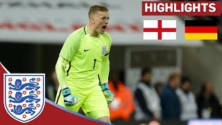 Jordan Pickford Shines in a Goalless Draw   England 0 - 0 Germany   Official Highlights