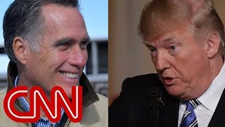 Mitt Romney is not ready to back Trump
