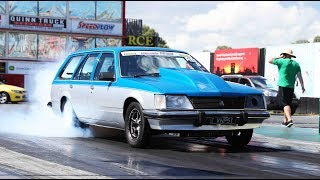 Radial Blown action at Drag Challenge Weekend, day one