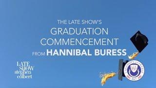 Dr. Hannibal Buress Delivers 2017 Commencement Address