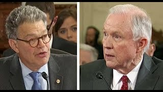 HEATED: AG Jeff Sessions SLAMS Al Franken over Russia claim: