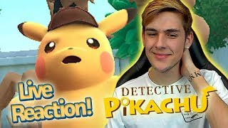 Detective Pikachu English Trailer Live Reaction! *New 3ds Pokemon Game*