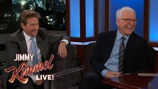 Steve Martin & Martin Short Bailed on Jimmy Kimmel