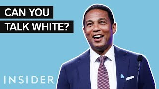 """Is """"Talking White"""" Actually A Thing?"""