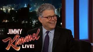 Al Franken Reveals Which Job is Better: Comedian or Senator