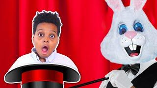 EVIL Bunny ATTACKS Bad Baby Shiloh and Shasha - Magic Trick GONE WRONG! - Onyx Kids