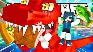 DESTROYING DINOSAUR PARK! | Minecraft Adventures
