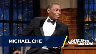 Michael Che Explains What Inspired the Trump Supporter Black Jeopardy Sketch