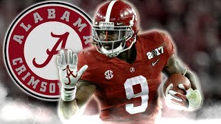 Bo Scarbrough    Scariest Running Back in College Football    Official 2016-17 Alabama Highlights
