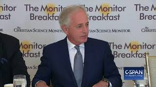 "Word for Word: Sen. Bob Corker (R-TN) ""Conflicted"" over Trump Presidency (C-SPAN)"