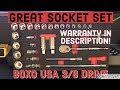 New Socket Set / BoxoUSA Tools Ratchet t...mp3