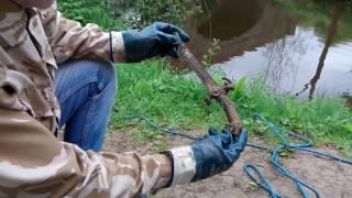 Amazing dagger found magnet fishing 1790 bridge