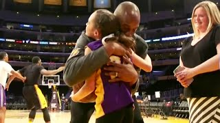 Make A Wish - Kobe Bryant Meets A Young Girl With Cerebral Palsy