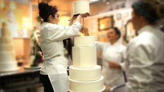 What It Takes To Make A Wedding Cake