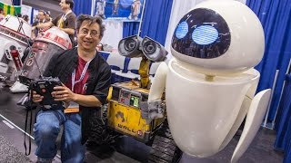 Real Life-Size EVE Robot (from Wall-E!)