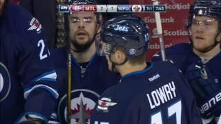 Lowry absolutely flattens Barberio