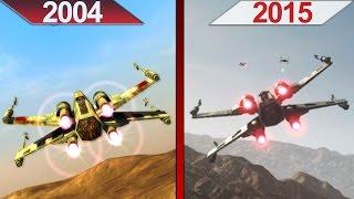 Comparison | Star Wars Battlefront | 2004 vs. 2015 | ULTRA | PC | Part 1