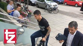James Rodríguez in München - Neuzugang geht zum Medizincheck (FC Bayern)