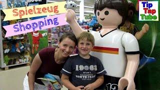 Shopping Tour im Spielzeugladen - Ash im Spielzeugcenter TipTapTube Kinderkanal