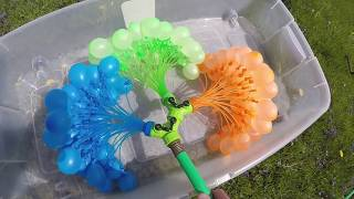 How To Make 100 Water Balloons In One Minute