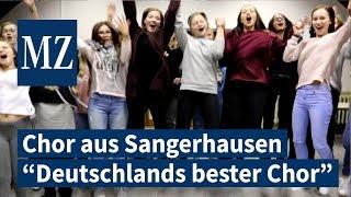 """""""Voces Juvenales"""" vom GSG Sangerhausen als """"Deutschlands bester Chor"""" gewählt."""