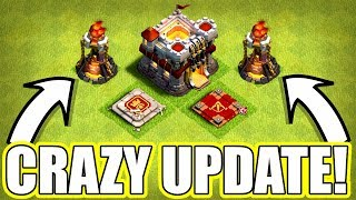 CRAZIEST UPDATE EVER!? - Clash Of Clans - BALANCE CHANGES INCOMING!