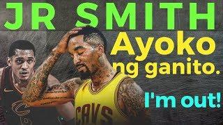 JR Smith: Binulgar na NAGPAPATALO talaga ang Cavaliers.