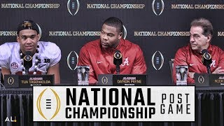 Hear what Nick Saban, Tua Tagovailoa, & Da
