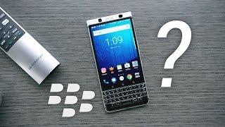 Blackberry KEYOne: 2017 Comeback?