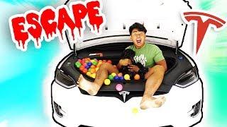 Escape The TESLA X!