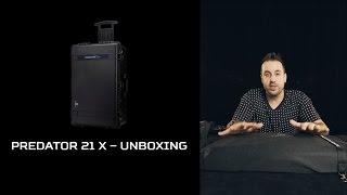 Predator 21 X Gaming Laptop – Unboxing the Beast