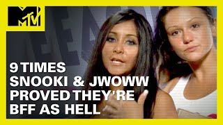 9 Times Snooki & JWoww Proved They're BFF As Hell 👯 | MTV Ranked