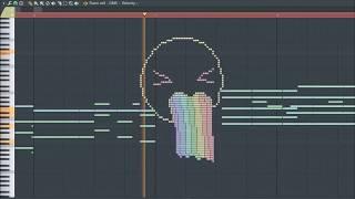 What Puke Rainbows Sounds Like - MIDI Art