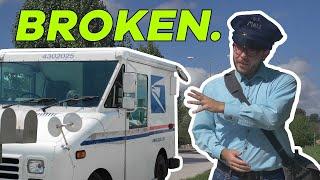 Postal Delivery Trucks Stink. Let