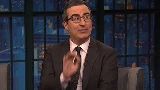 John Oliver on Late Night with Seth Meyers Full Interview