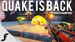 QUAKE IS BACK - Quake Champions Gameplay + First Impressions