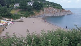 Metal Detecting On a Welsh Beach ~ Coins Everywhere