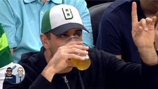 Aaron Rodgers chugging beer wouldn't have been a good look - Jalen Rose   Jalen & Jacoby