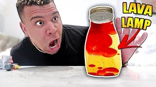DIY EDIBLE LAVA LAMP!! (HOW TO MAKE INSTANT LAVA LAMP YOU CAN EAT)