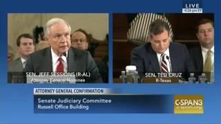 Sen. Cruz Highlights Jeff Sessions
