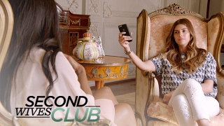 Tania Desperately Tries to Play Nice With Shiva & Veronika | Second Wives Club | E!
