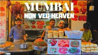 AMAZING NON VEG STREET FOOD   MUST TRY AT MUHAMMAD ALI ROAD, MUMBAI